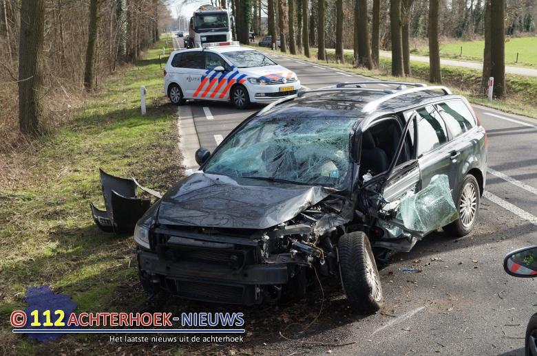 Een gewonde bij eenzijdig ongeval Hummelo.