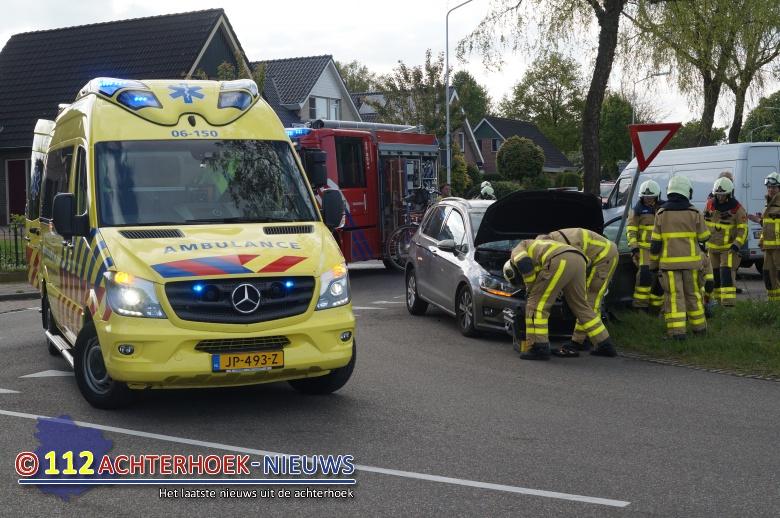 Bestuurders ongedeerd na ongeval Silvolde.