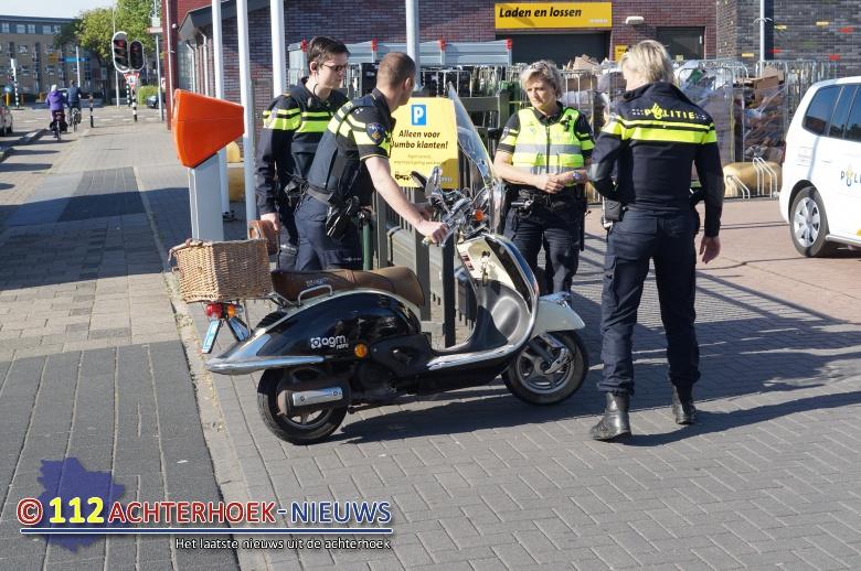 Scooterrijder gewond na aanrijding met fiets in Doetinchem.