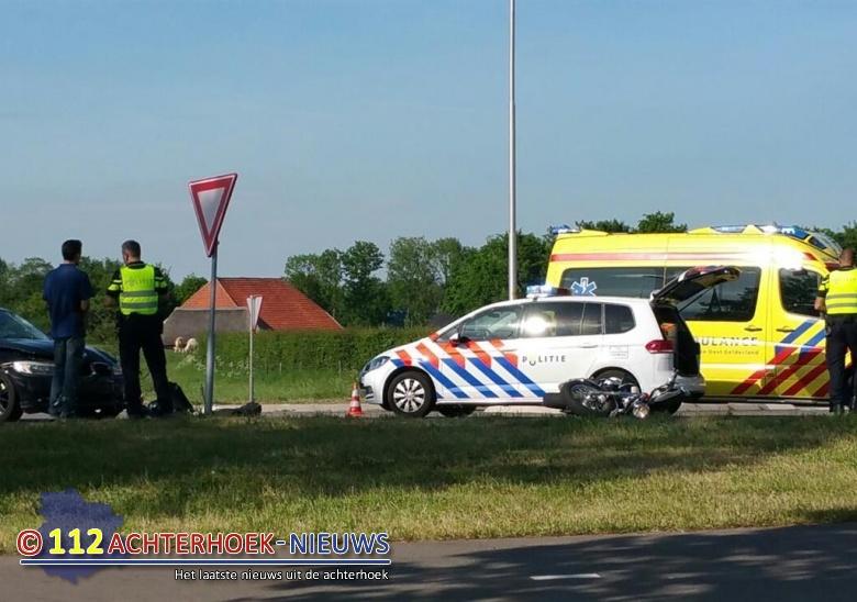 Slingerparallel dicht door ongeval bij Etten.
