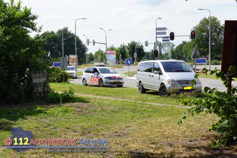 Motorrijder gewond na ongeval met scooter N18 Lichtenvoorde.