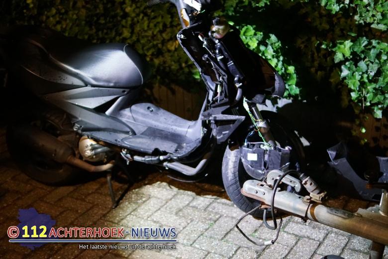 Scooterrijder gewond na ongeval Varsselder-Veldhunten.