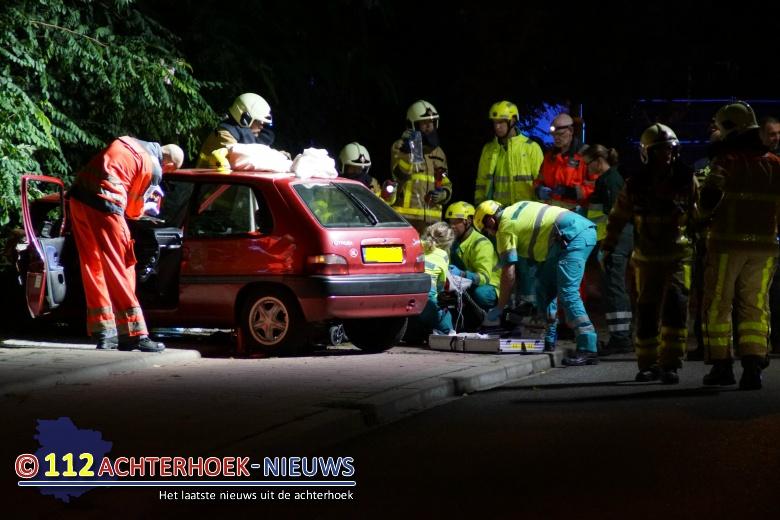 Man ernstig gewond bij eenzijdig ongeval Hofstraat in Doetinchem.