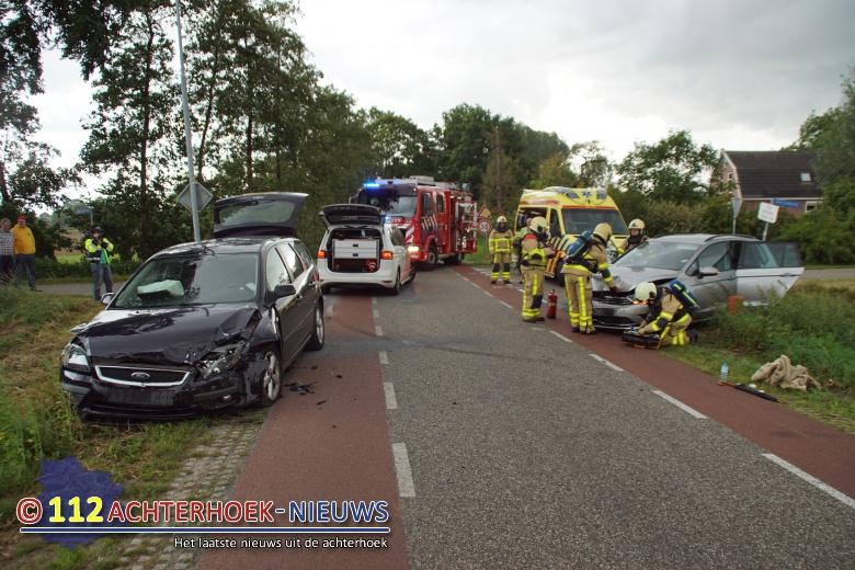 Moeder en kind gewond bij aanrijding in De Heurne.