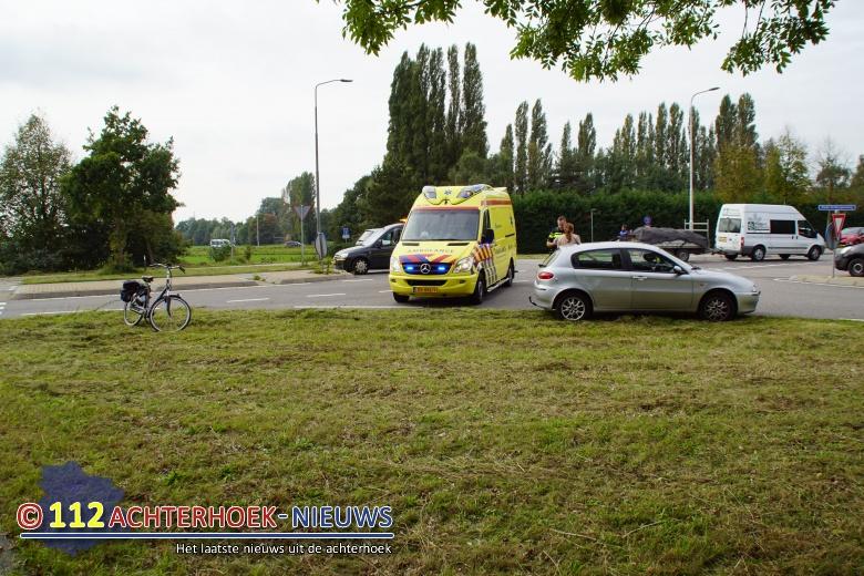 Fietsster gewond na ongeval in Doetinchem.