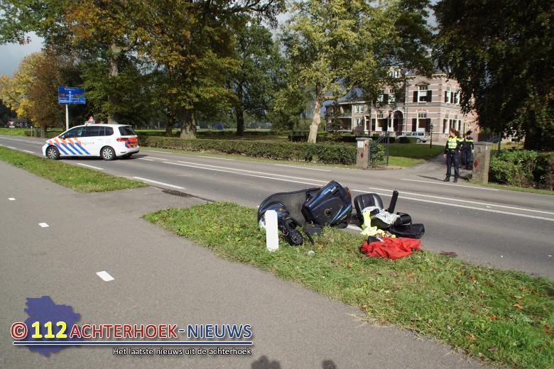Vrouw op scootmobiel zwaargewond na aanrijding in Hummelo.