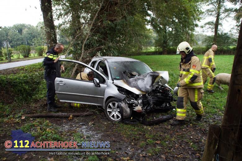 Scootmobiel aangereden in Almelo, bestuurder gewond.