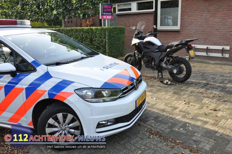 Motorijder licht gewond bij aanrijding in Doetinchem.