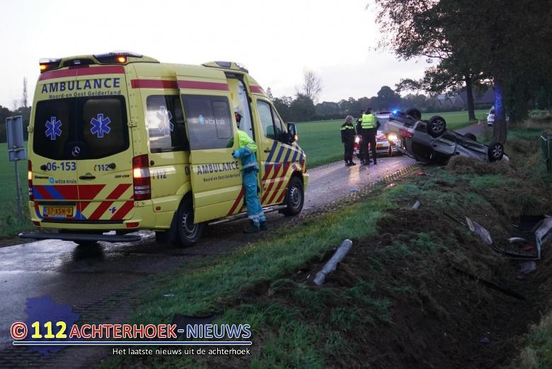 Twee gewonden bij aanrijding in de Heurne.