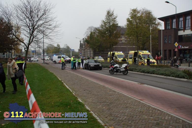 Vrouw overleden bij aanrijding op oversteekplaats in Doetinchem.