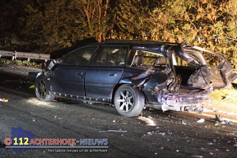 Een zwaargewonde door zwaar ongeval A12 richting Duitsland bij Zevenaar.