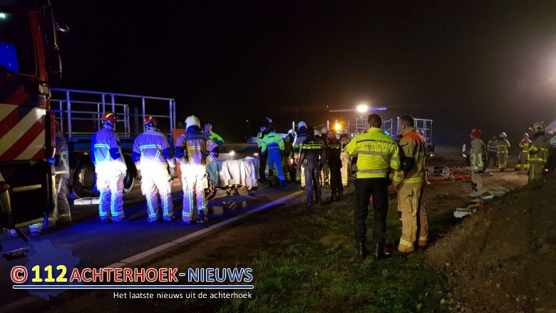 Brandweer Neede rukt uit voor ernstige aanrijding Needseweg - N315 Haaksbergen.