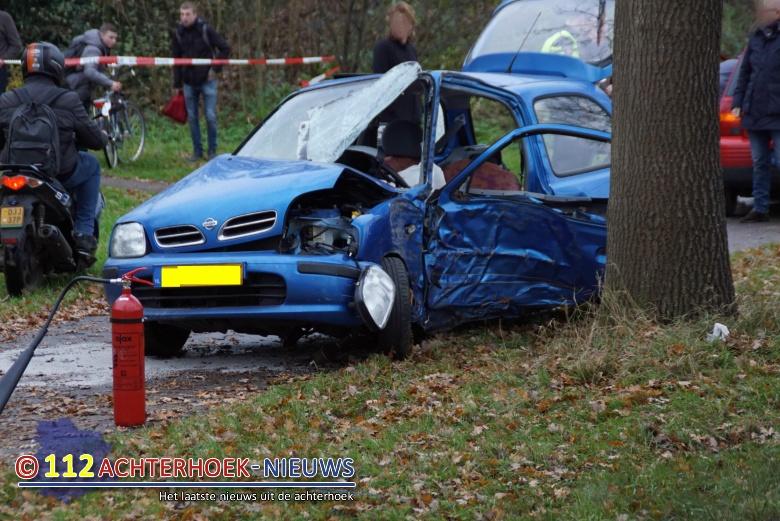 Vrouw zwaar gewond na eenzijdig ongeval in Gendringen.