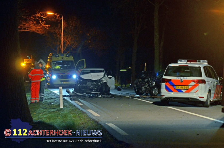 Dode en drie gewonden bij ongeluk in Barchem.