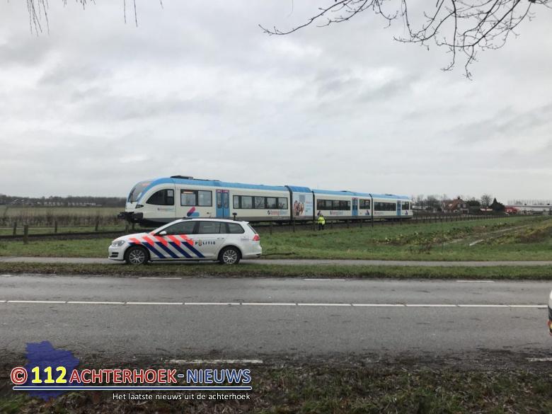 Vrouw ontsnapt aan aanrijding met trein in Zevenaar.