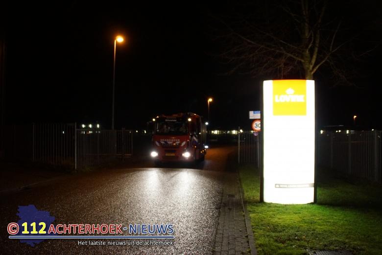 Man ernstig gewond bij mogelijk bedrijfsongeval bij ijzergieterij Lovink in Terborg.