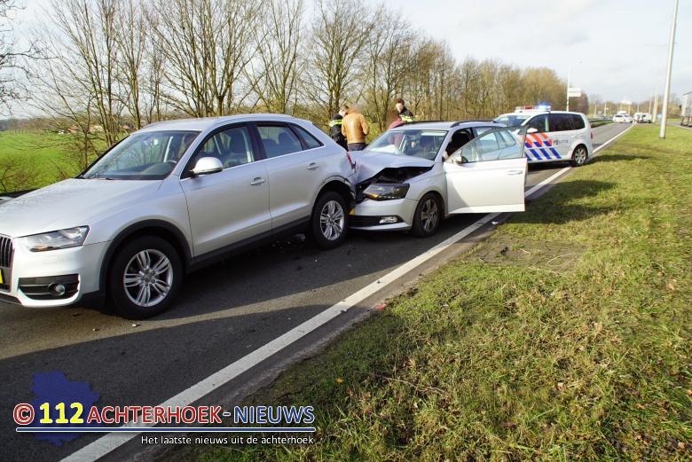 Drie voertuigen betrokken bij aanrijding op de A1.