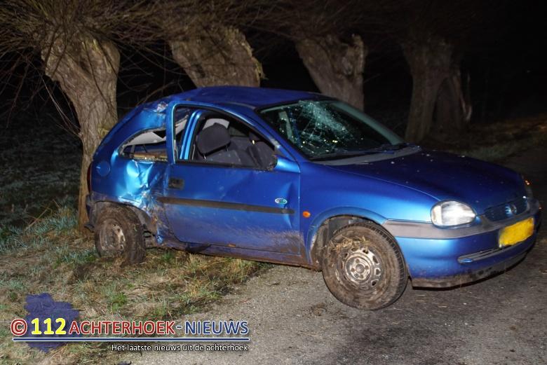 Twee gewonden bij eenzijdig ongeval Kapelweg in Silvolde.