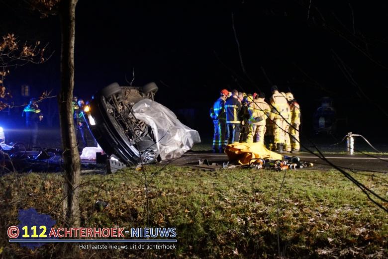 Dodelijk ongeluk in Ruurlo eist derde leven.