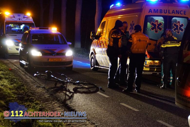 Fietser gewond bij aanrijding met auto Aladnaweg in Aalten.
