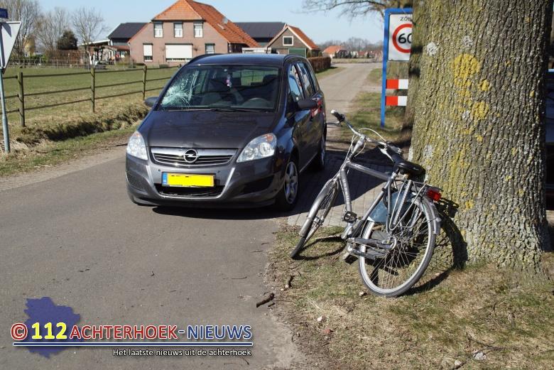 Fietser gewond na aanrijding met auto in Venlo.