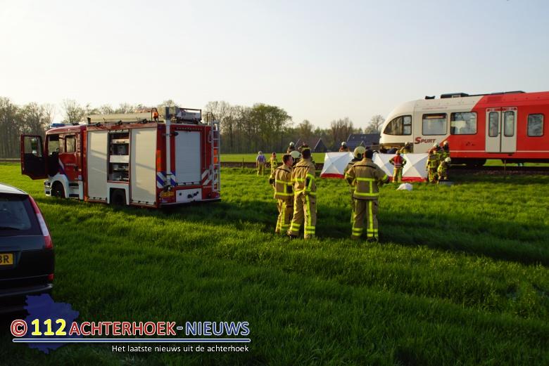 Dode treinongeluk is 19-jarige man uit Aalten.