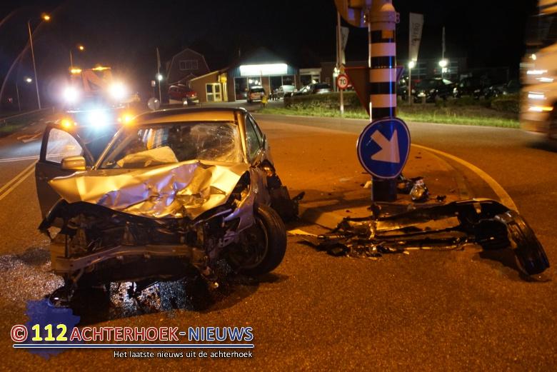 Ravage na ongeval op Hamelandroute Aalten.