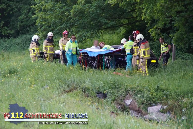 Traumahelikopter ingezet voor ernstig ongeluk in Doetinchem.