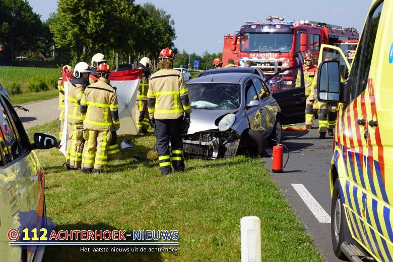 Drie gewonden bij ongeval Kruisbergseweg in Keijenborg.