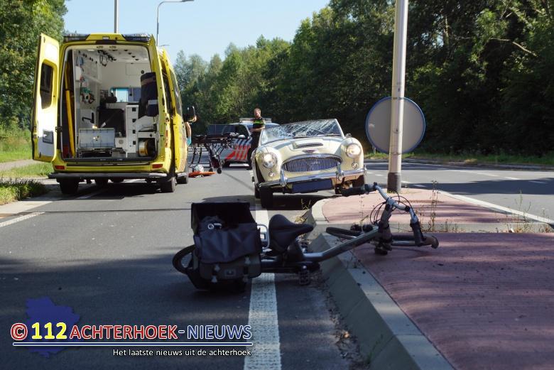 Vrouw zwaargewond bij ongeval Kruisbergseweg in Zelhem.
