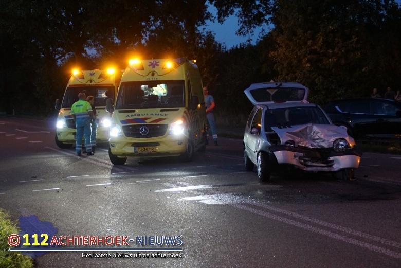 Twee gewonden bij frontale aanrijding in Ulft.