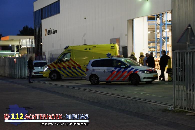 Een gewonde bij bedrijfsongeval in Didam.