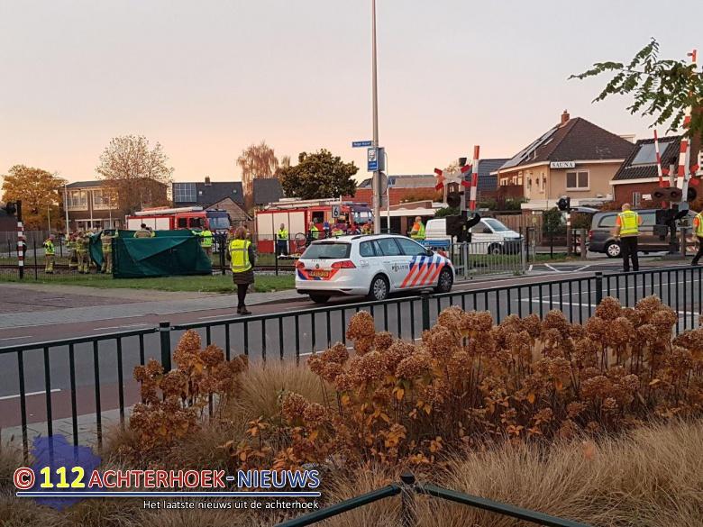Vrouw komt om het leven na aanrijding met trein in Winterswijk.